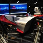 Cruden simulator at International Autosport show