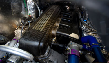 Mini All4 racing engine