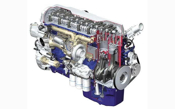 Manufacturing Of A 13l Volvo Truck Engine
