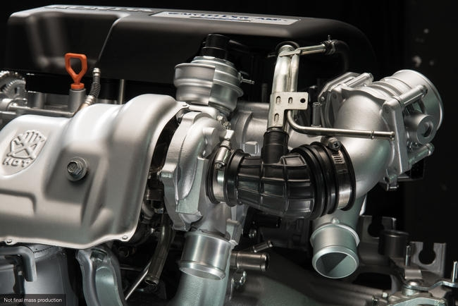 i-DTEC engine turbocharger