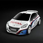 Peugeot and Total collaboration 208 HYbrid FE