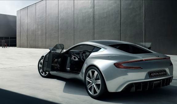 Advanced Zircotec coatings on Aston Martin One-77