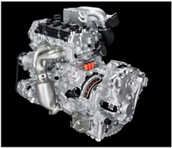 Nissan 2.5L supercharger engine with EM