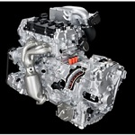 Nissan 2.5L supercharger hybrid powertrain