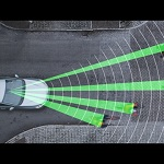 Volvo Pedestrian and Cyclist Detection with full auto brake