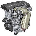 Opel 1.6l SIDI Turbo engine