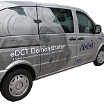 Mercedes vito EV demonstrator