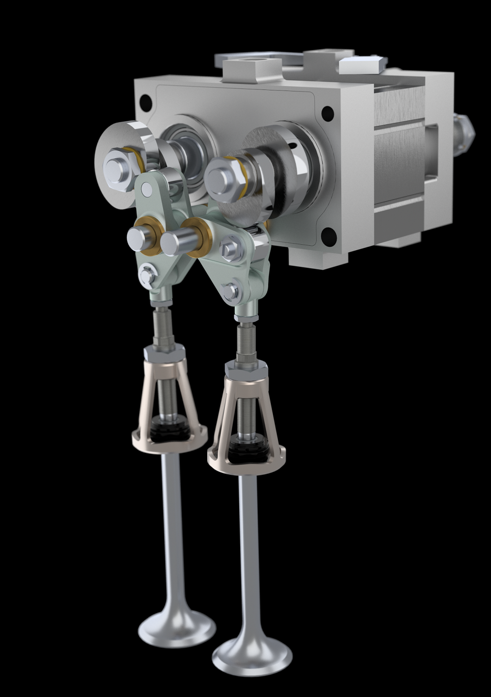 Camcon's valve actuation system