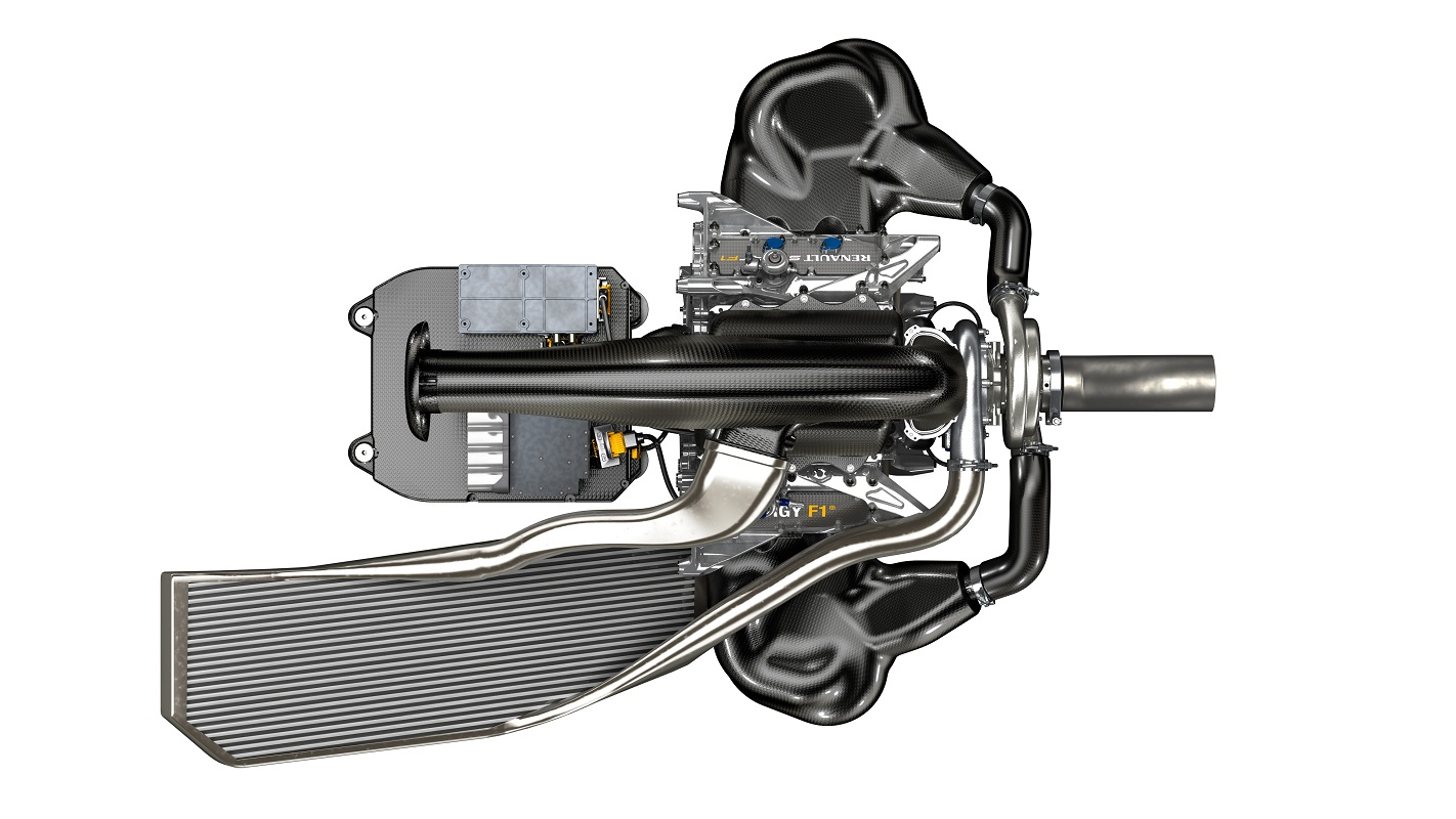 Energy F1-2014 complete Power-unit