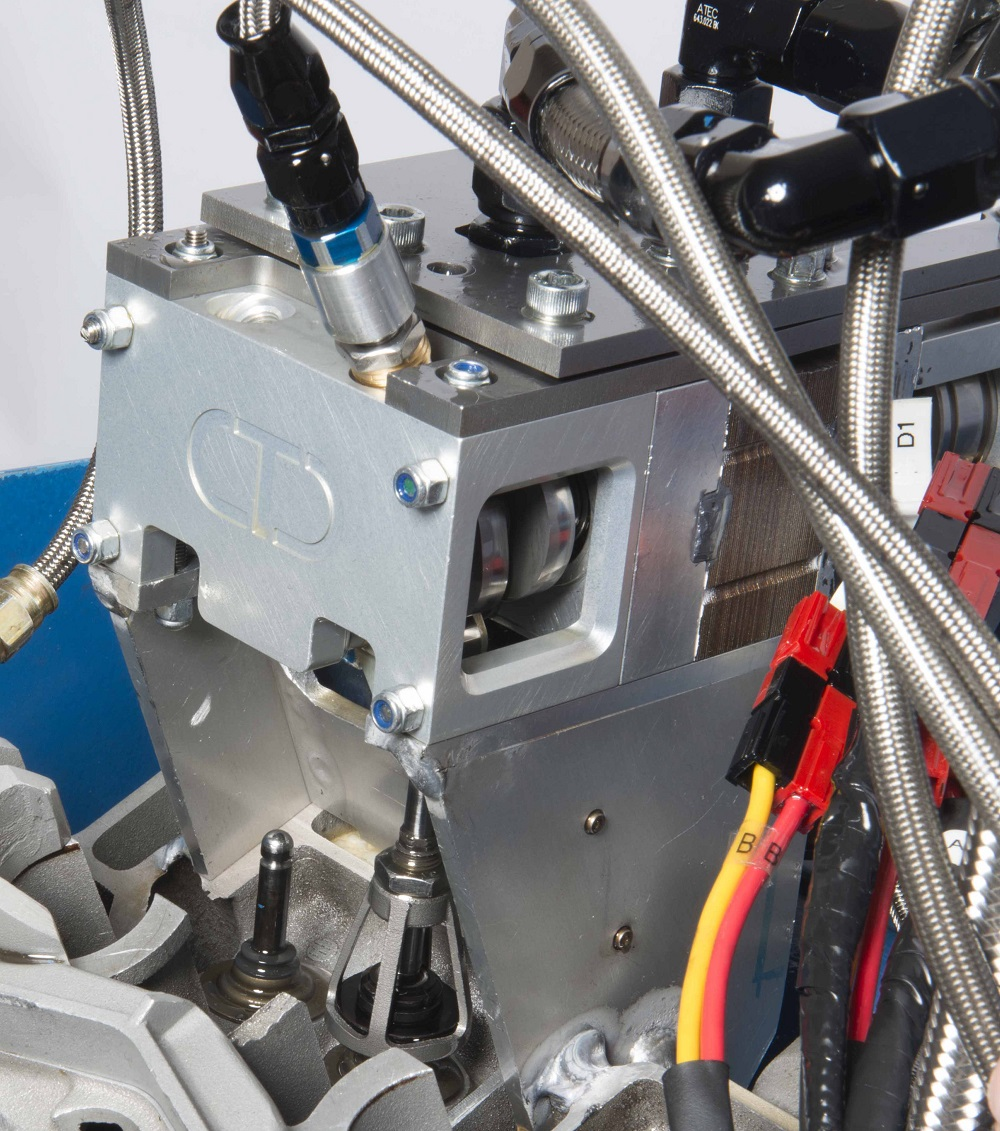 Physical testing of valve actuation system