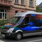 Emitec Mercedes Sprinter with E-SCR