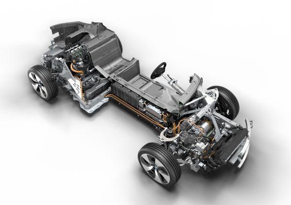 BMW i8 powertrain