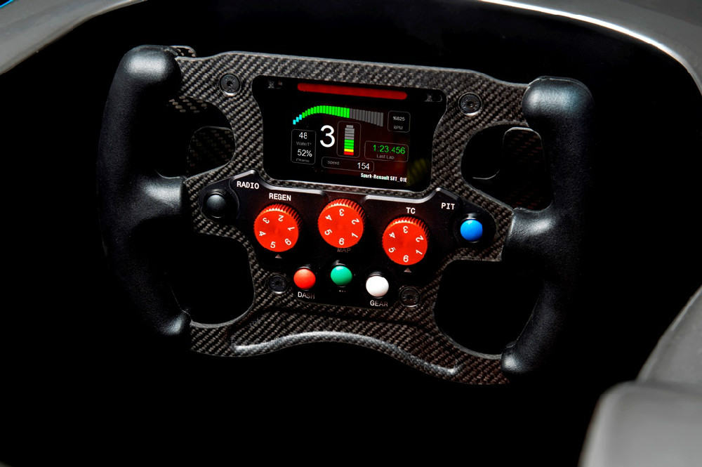 Spark-Renault SRT_01E steering wheel