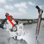 Injection system by Bosch