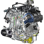 Ford EcoBoost 2.3 liter engine