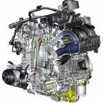 Ford EcoBoost 2.3 liter gasoline engine