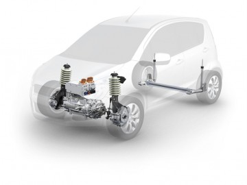 ZF's suite of electrification modules
