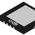 CMOS driver with GaN switch