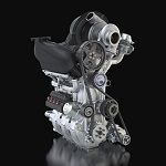 DIG-T R 1.5 liter three-cylinder engine for the Nissan ZEOD RC