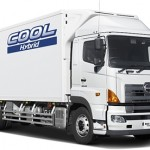 Hino Profia with an electric refrigerator system