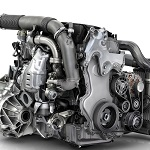 Renault 1.6l dCi twin-turbocharger engine
