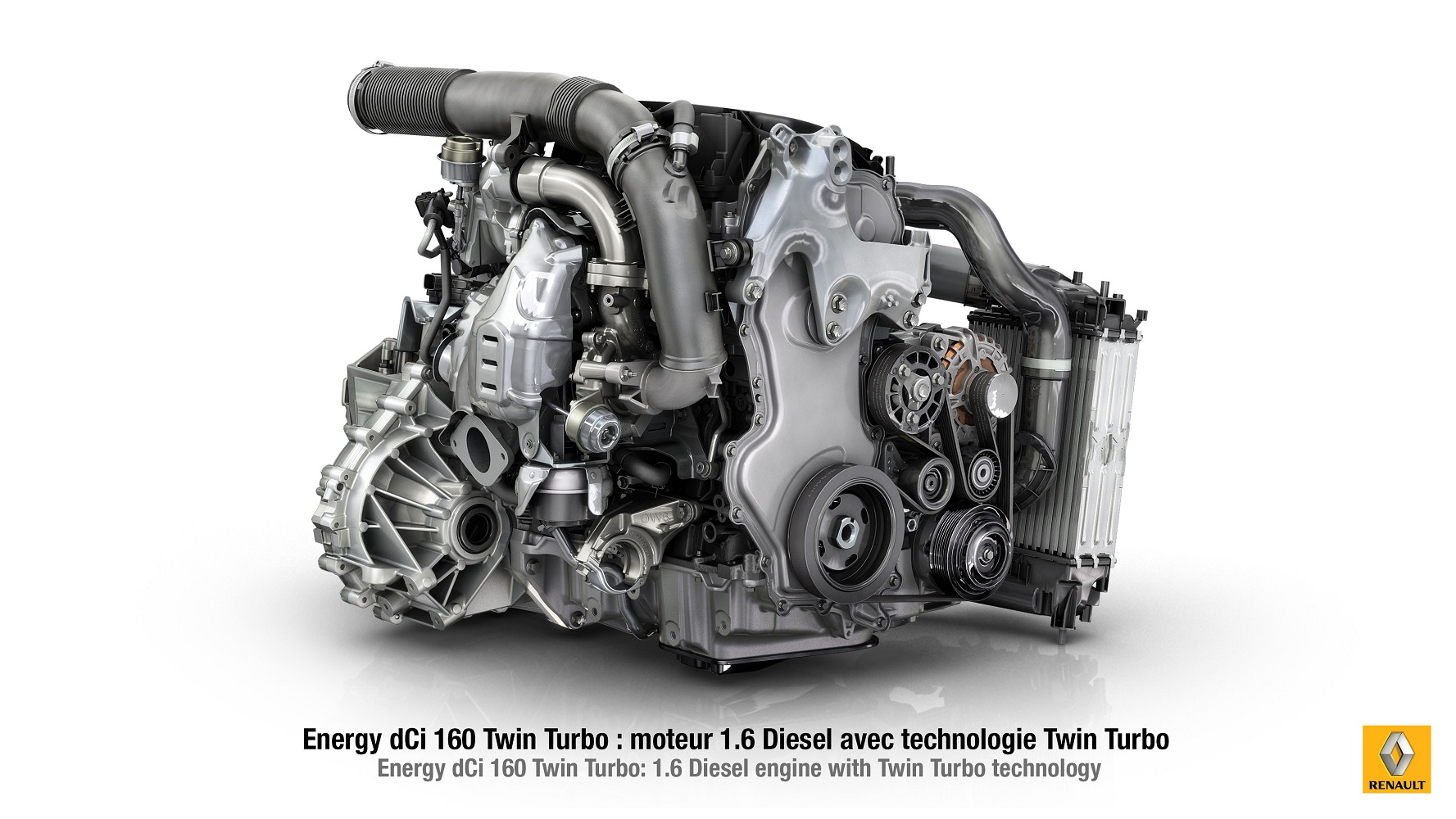 Renault 1.6l dCi twin-turbocharger