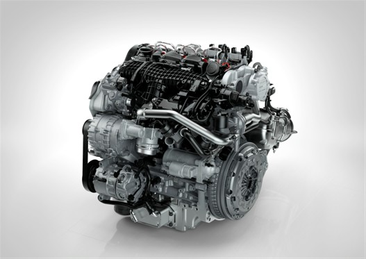 The new Drive-E diesel engine cold side