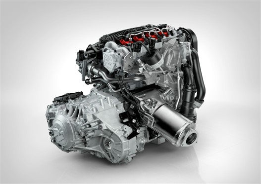 The new Drive-E diesel engine hot side