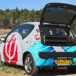 Citroen C1 Phinergy prototype with Al-Air batteries