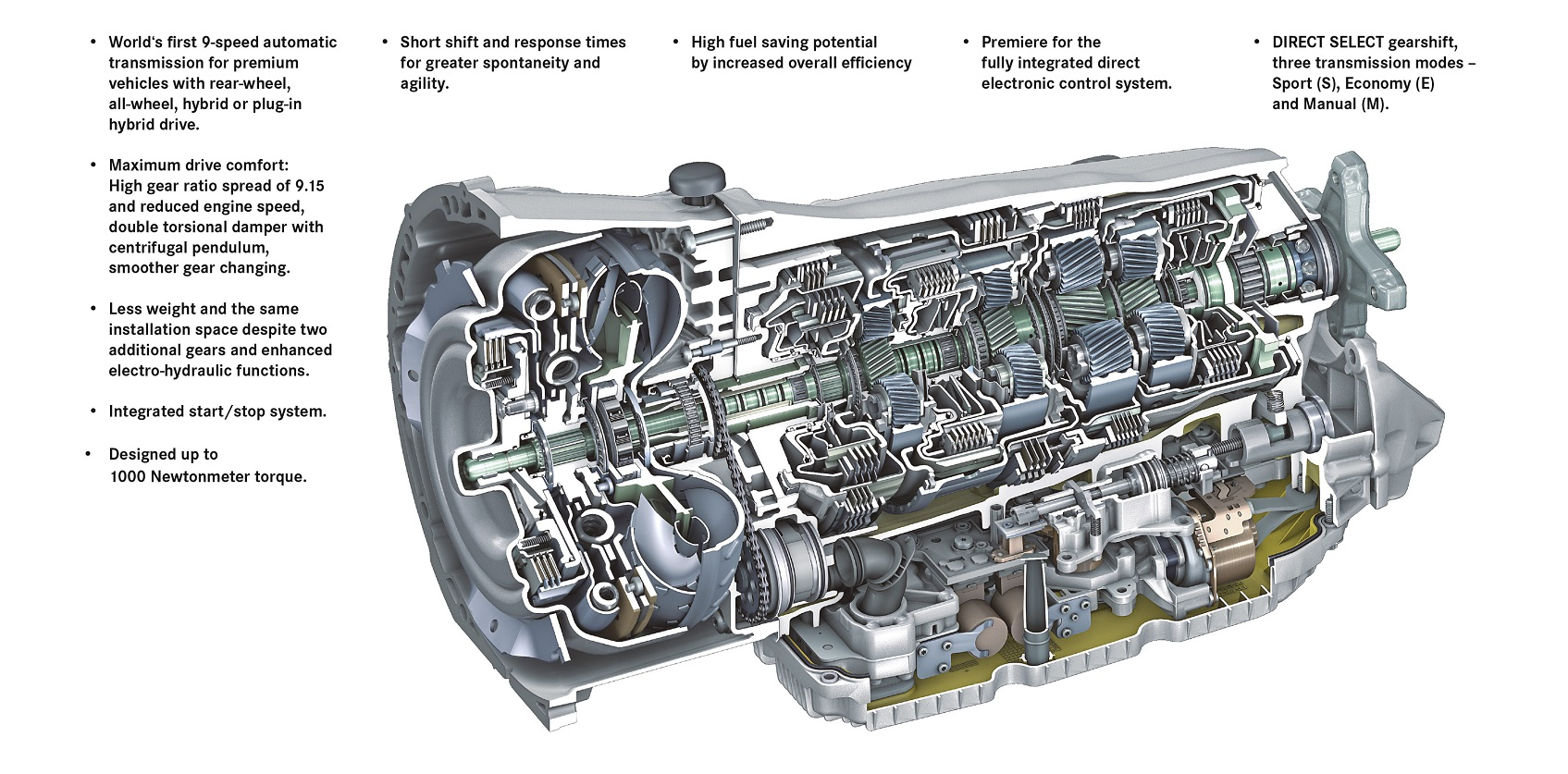 the 9g tronic automatic transmission by mercedes rh car engineer com