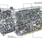Mercedes-Benz-automatic-transmission-9G-TRONIC-lightweight-design-and-fuel-economy