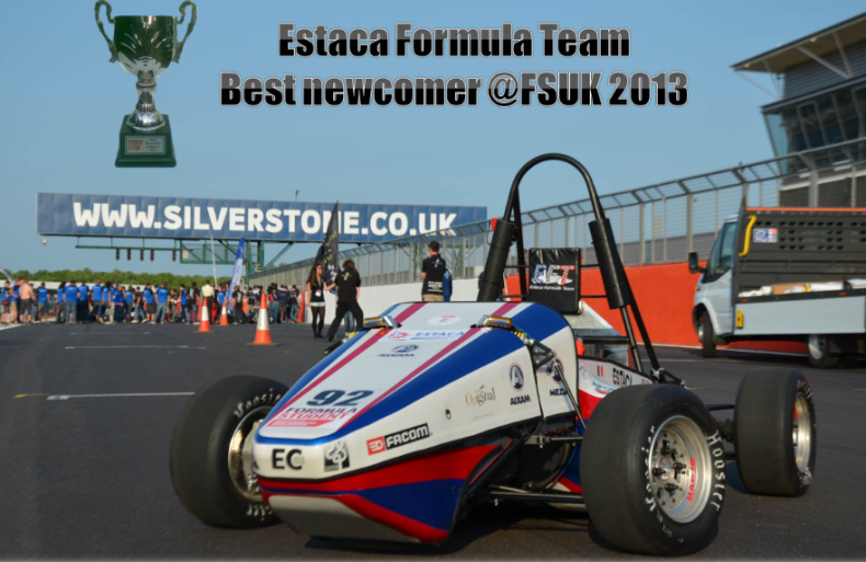 The EC-01 Formula student race car