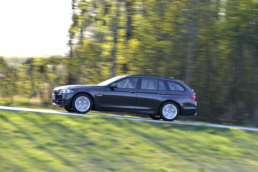 The BMW 520d with the second generation of ZF 8HP transmission