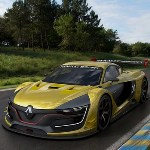 Renault Sport R.S. 01 on track
