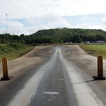 Road friction estimation test track in Sweden