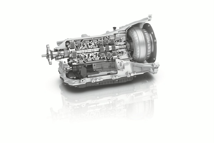 ZF 8HP Generation 2