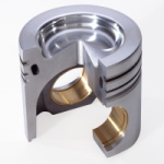 Federal-Mogul's advanced casting techniques and local reinforcement significantly improve the structural stability of aluminum pistons