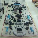 Porsche GT3 assembly