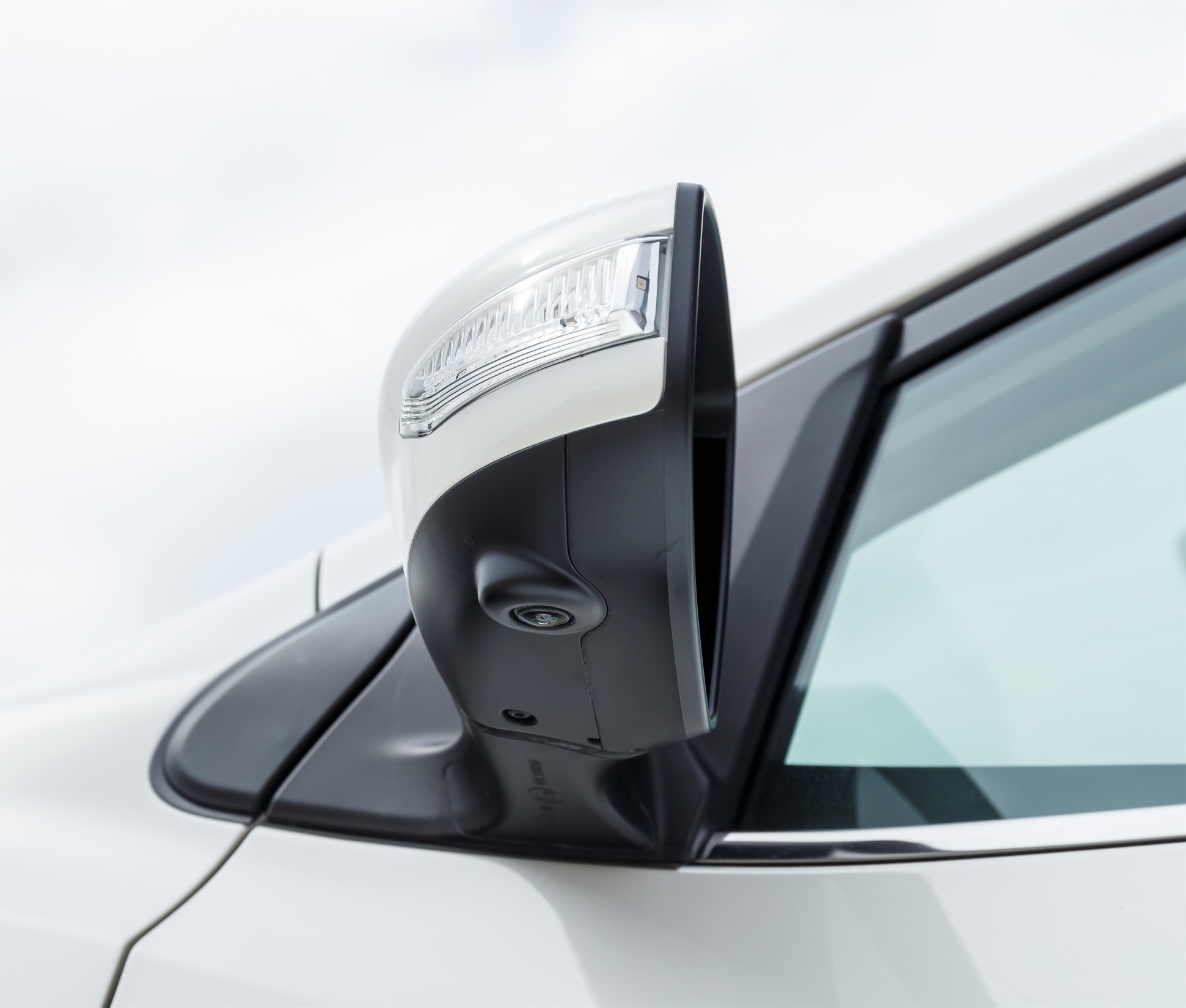 Nissan Pulsar Side view mirror and camera