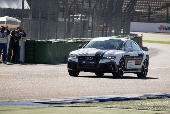 The Audi RS 7 piloted driving concept