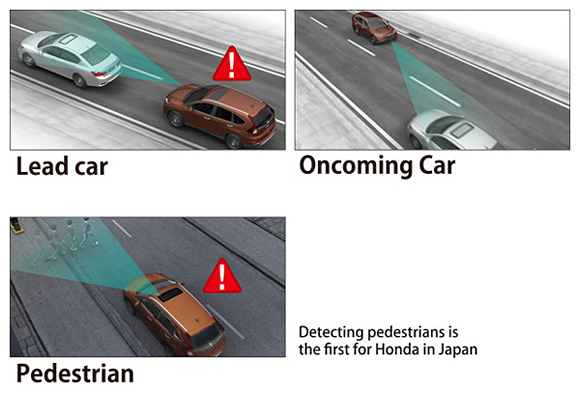Collision Mitigation Braking System (CMBS)