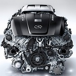 V8 Biturbo engine by AMG