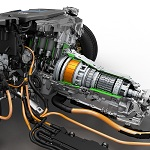 BMW 3 Series Plug-in hybrid prototype powertrain