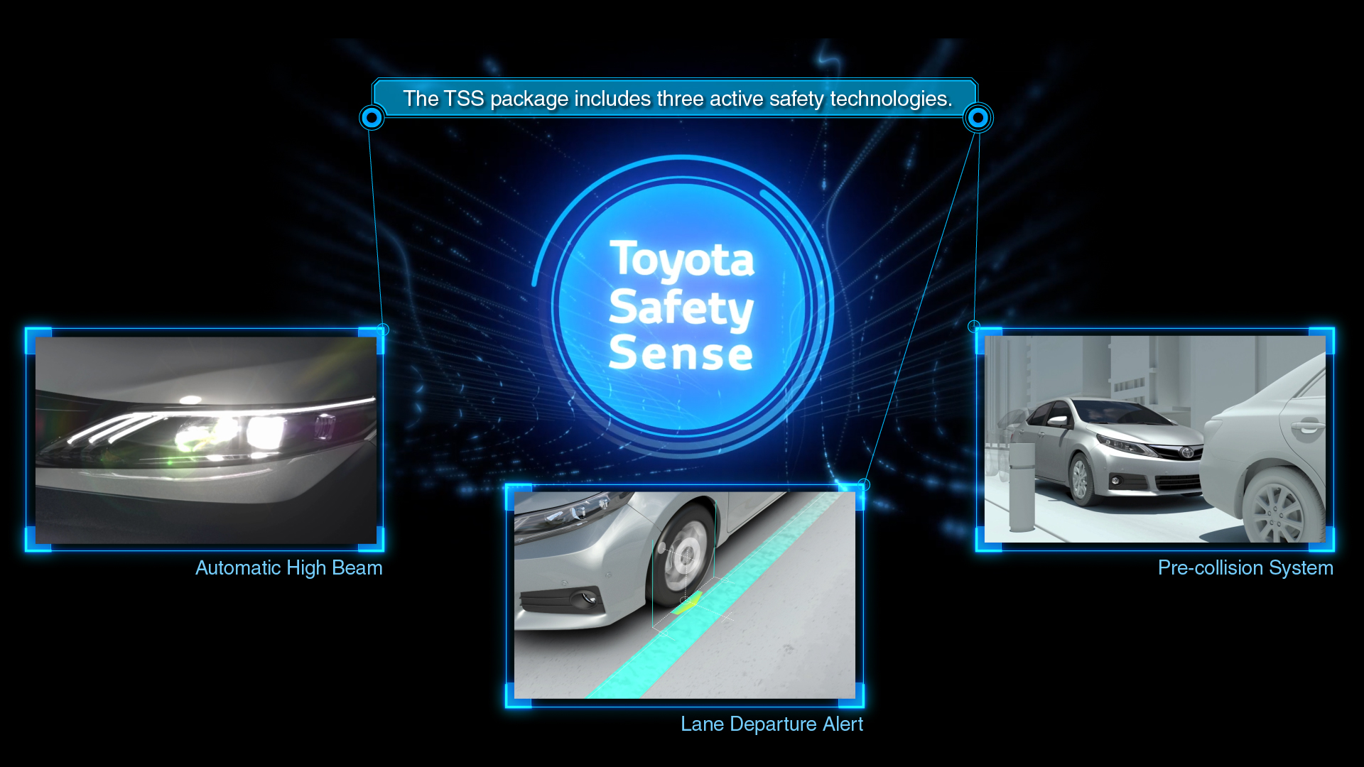 Toyota Reveals Next-generation Integrated Safety Technology