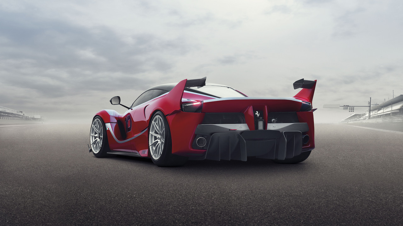 Ferrari FXX-K back