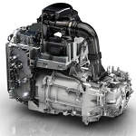 Newly designed Renault electric motor