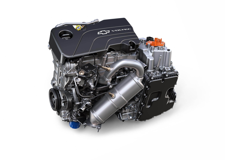 2016 Chevrolet Volt Internal combustion engine