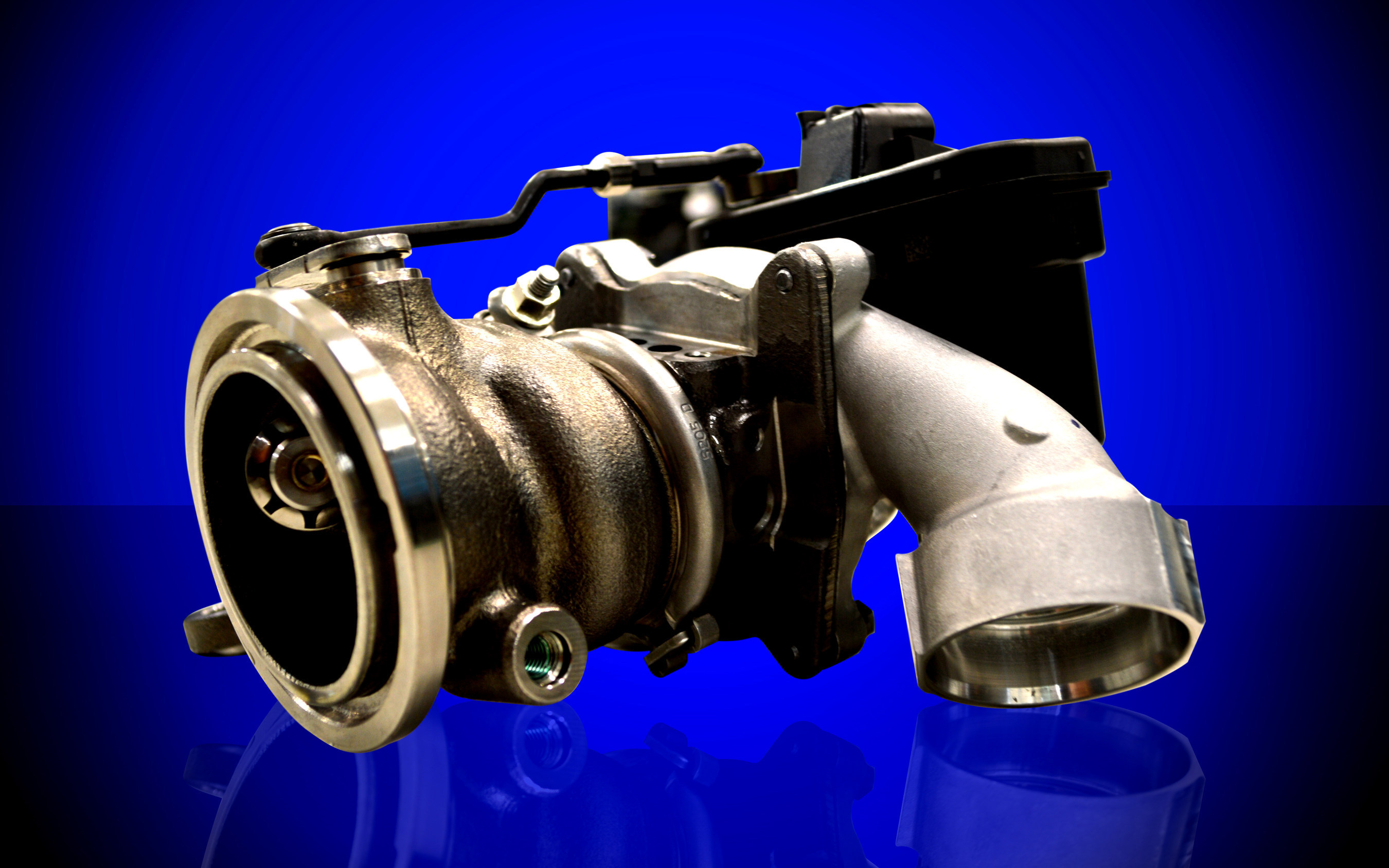BorgWarner Flex Fuel turbocharger