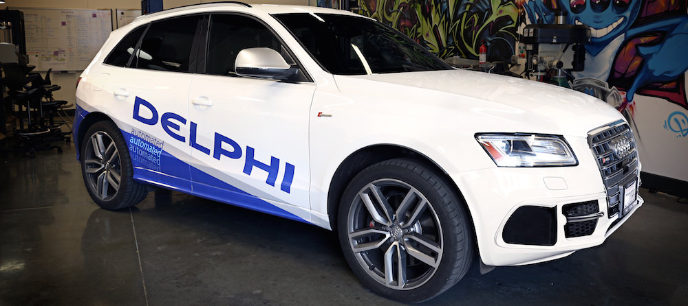 Delphi's automated driving vehicle
