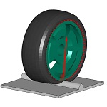 Fraunhofer ITWM Virtual vehicle testing modeling tires realistically